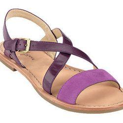 """<a href=""""http://www.colehaan.com/colehaan/catalog/product.jsp?catId=100&productId=726802&productGroup=726801"""">Cole Haan</a> <b>Minetta</b> flat sandal, $158"""