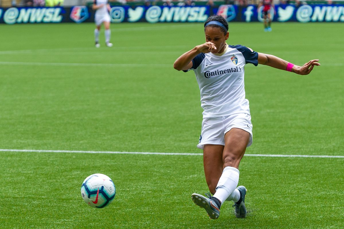 SOCCER: AUG 11 NWSL - NC Courage at Portland Thorns FC