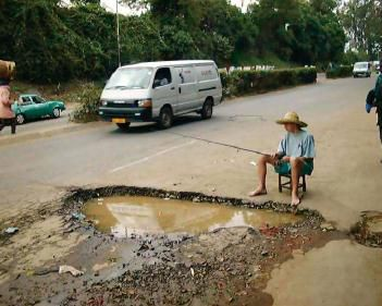 Pothole Alert – Soaking Rains – Big Temperature Swings Next 2 Weeks