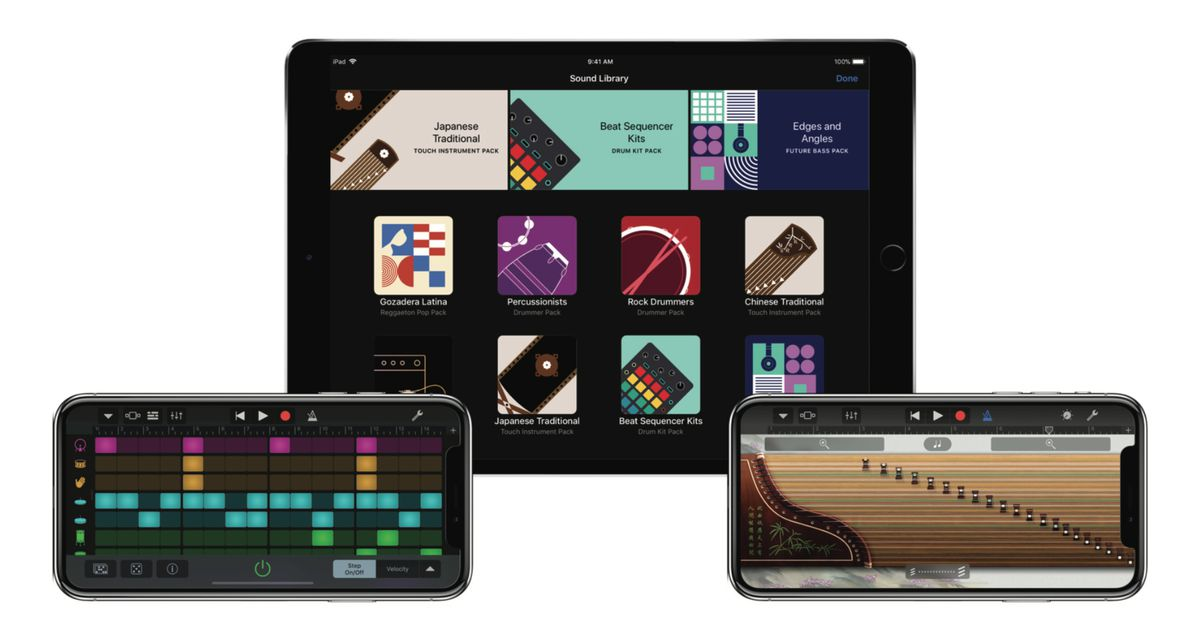 Apple Updates GarageBand with a Sound Pack Store