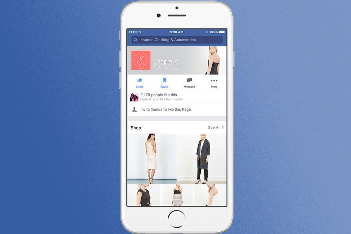 Facebook is turning business pages into storefronts - The Verge
