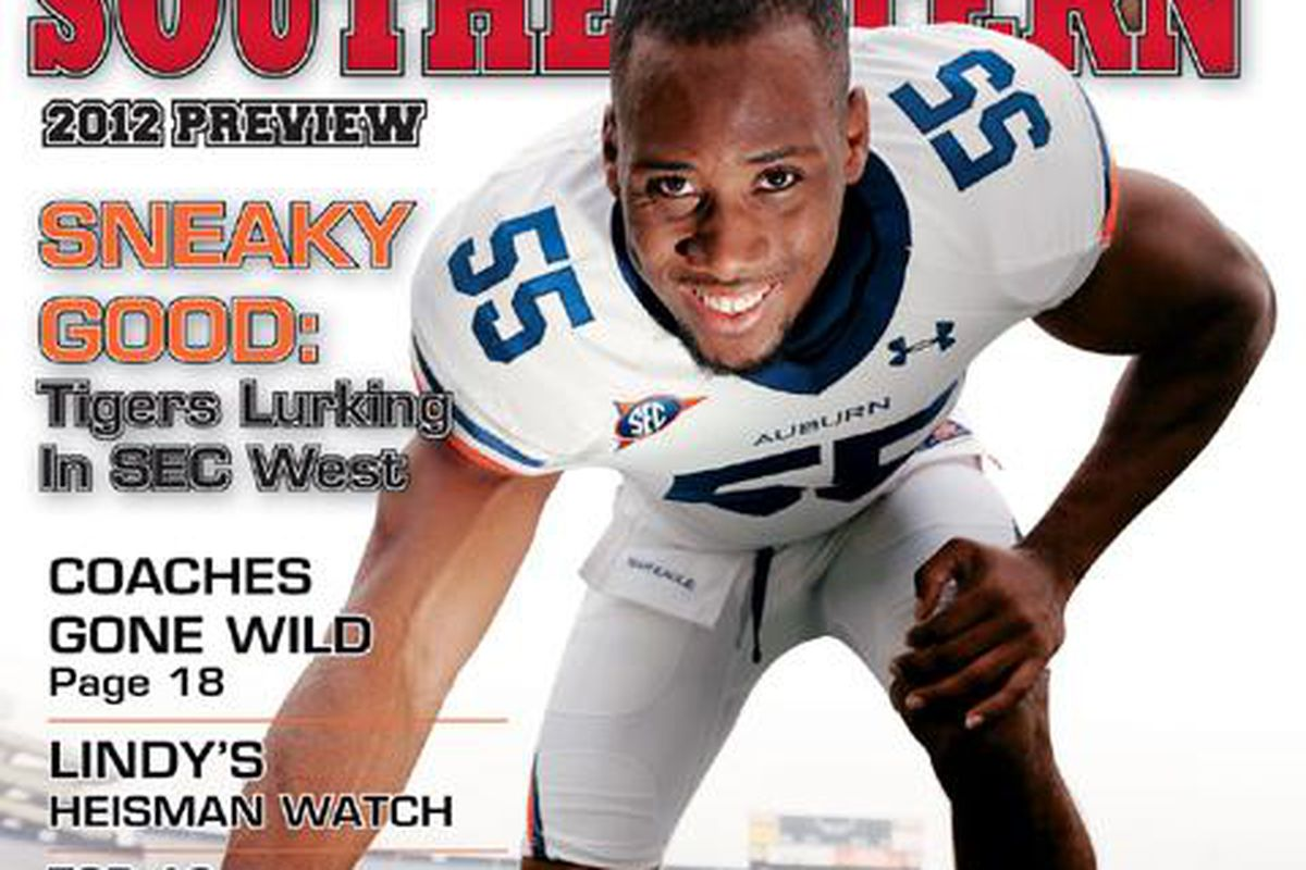 Lindy's annual sports publication picks Auburn fifth in the SEC West for 2012.