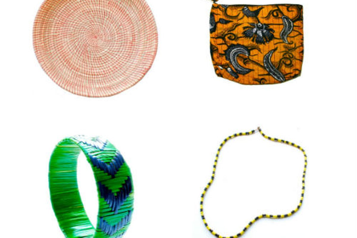 Indego Africa accessories and housewares.