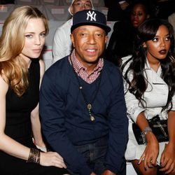 Melissa George, Russell Simmons, and Angela Simmons