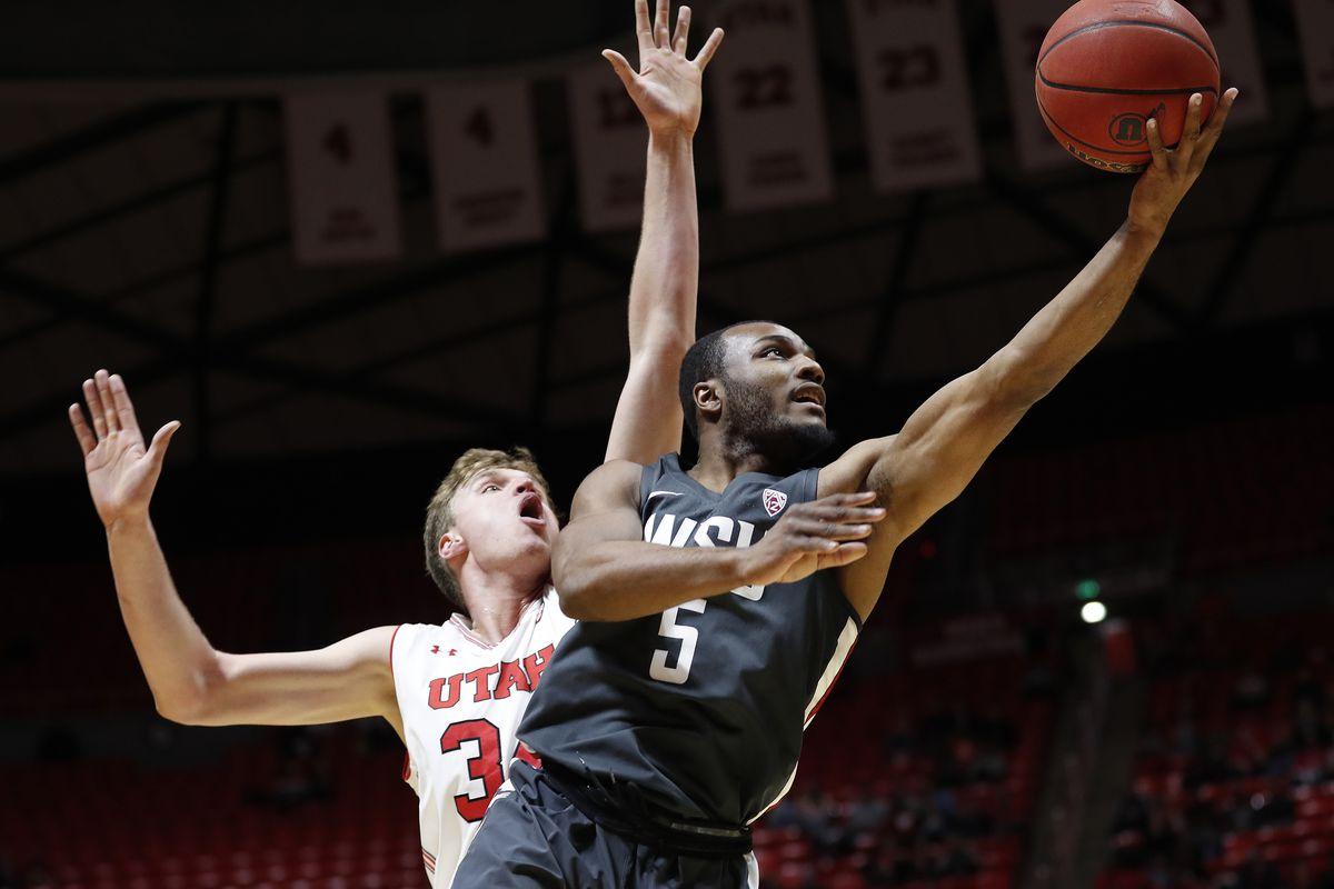 NCAA Basketball: Washington State at Utah
