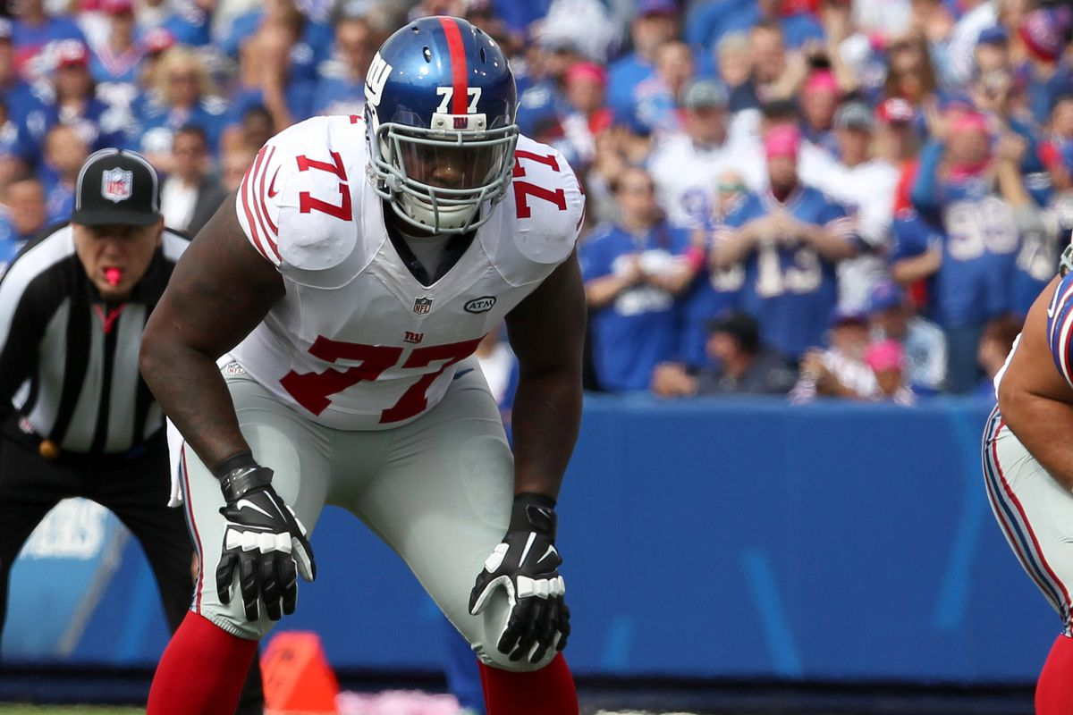 Justin Pugh is out Sunday, which means John Jerry is in