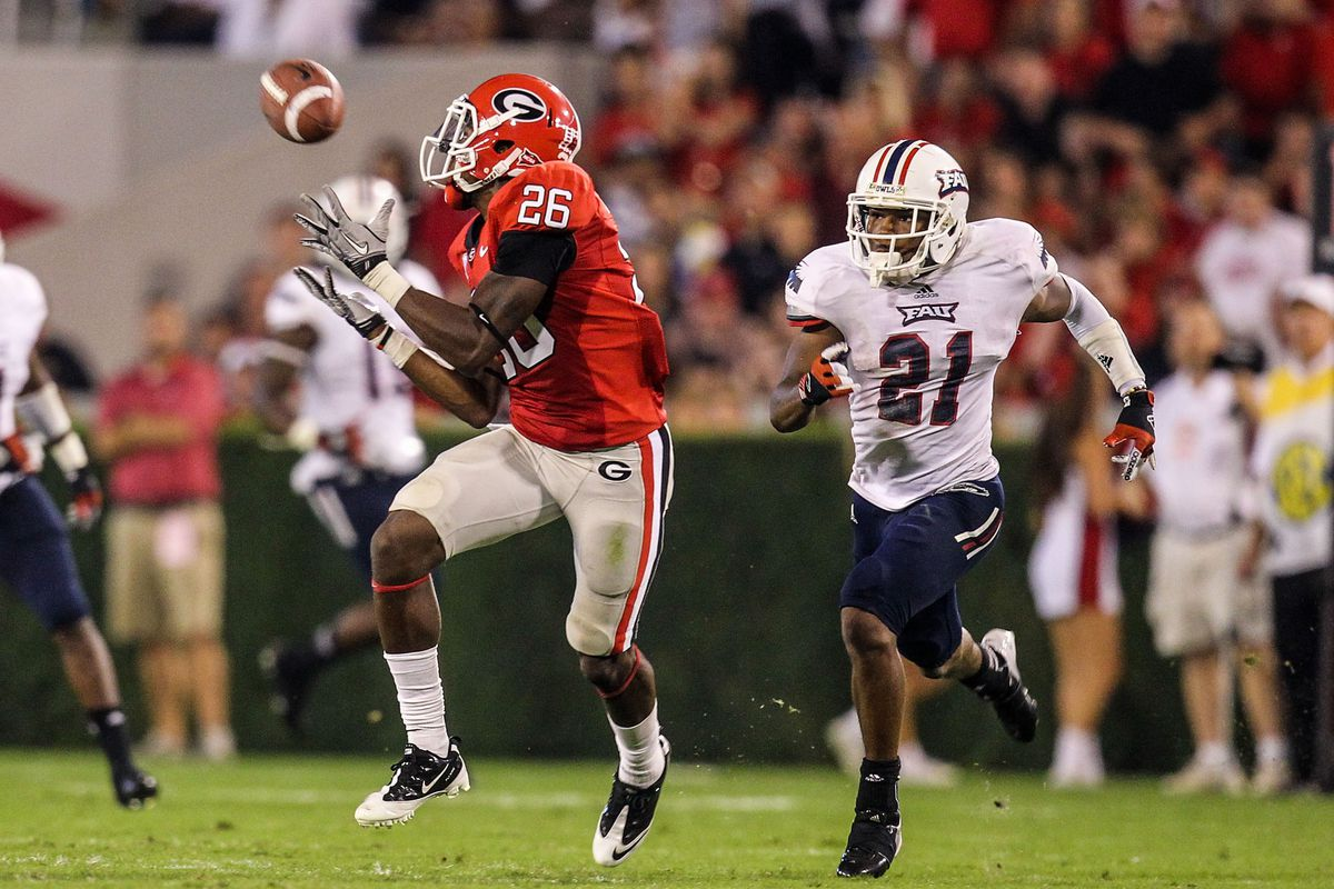 Malcolm Mitchell, feel free to unleash your inner Fred Gibson tonight!