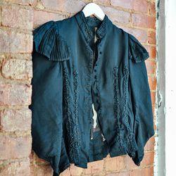 Victorian jacket with intricate boning beadwork