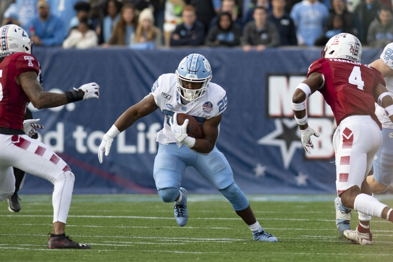 NCAA Football: Military Bowl-North Carolina vs Temple