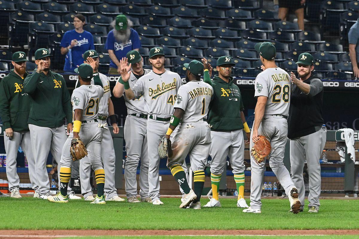 MLB: SEP 15 Athletics at Royals