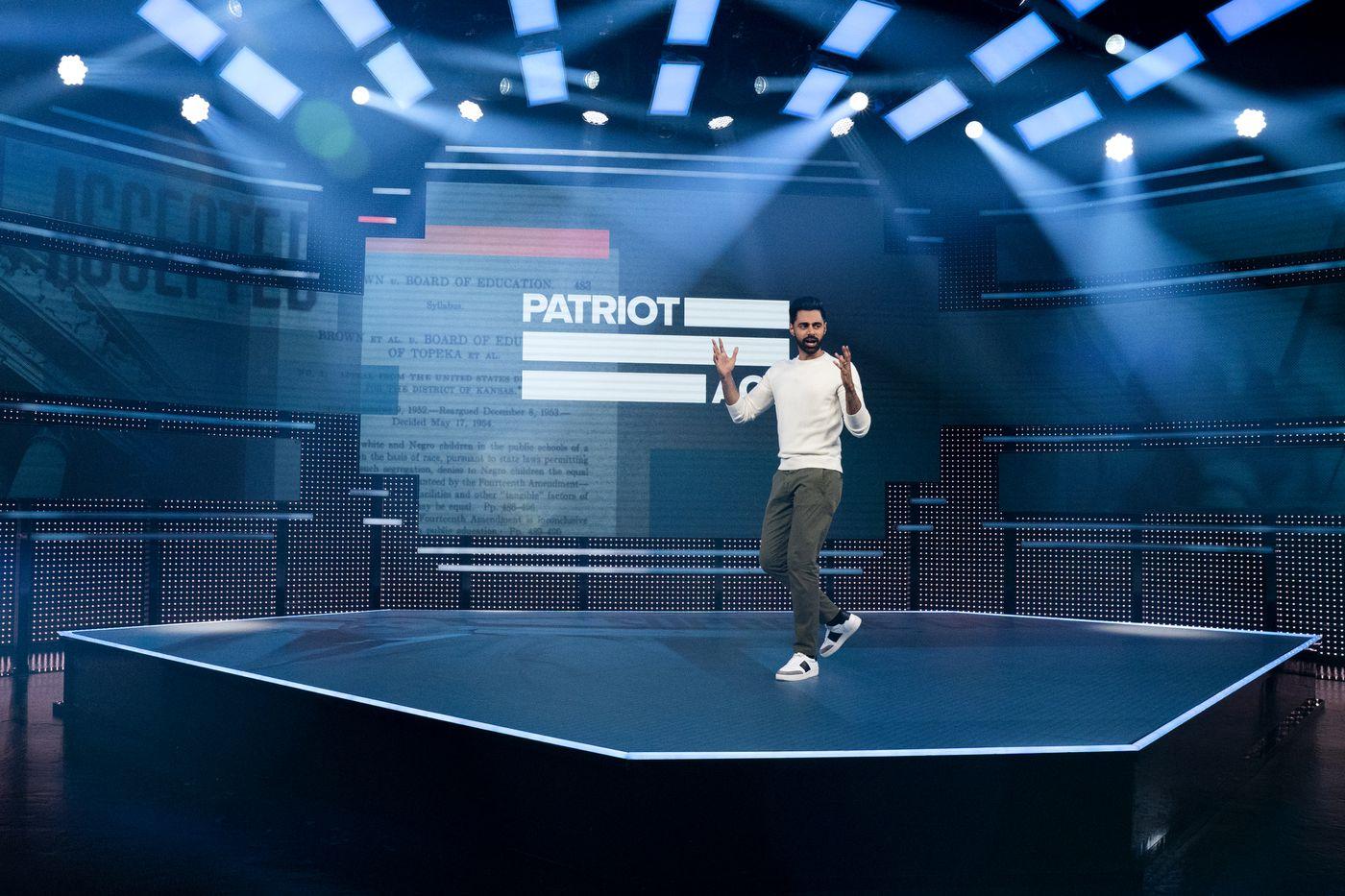 Netflix's Patriot Act With Hasan Minhaj is distinct, funny