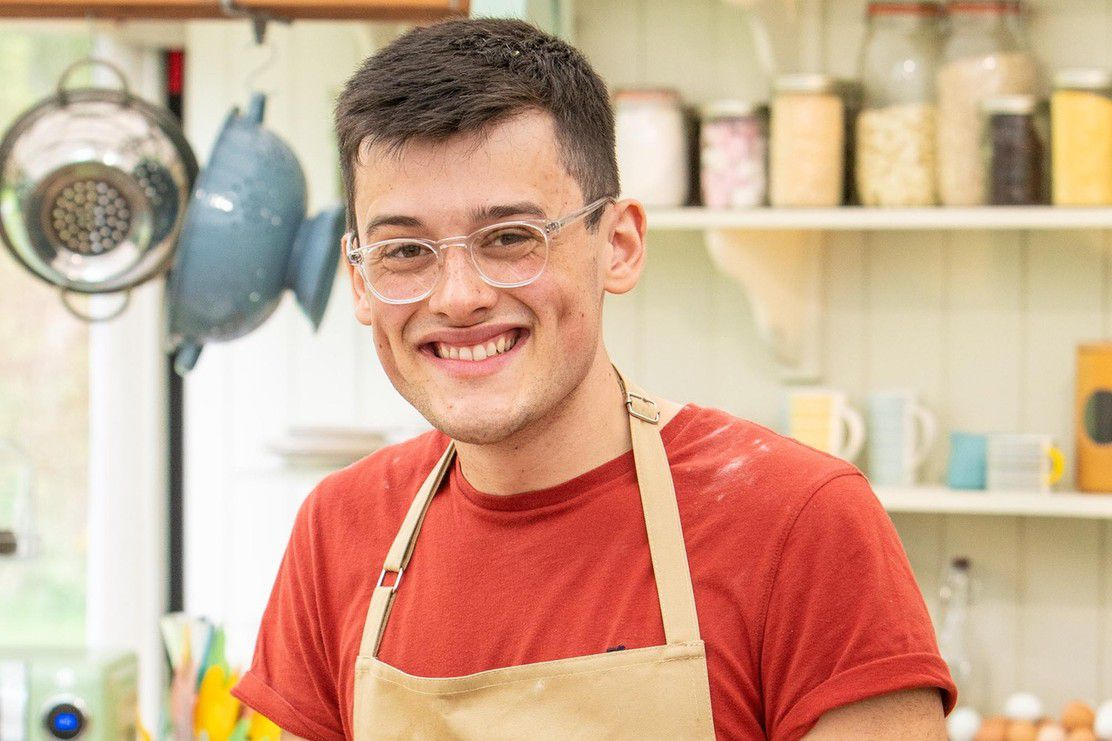 Michael, a contestant on Great British Bake Off 2019