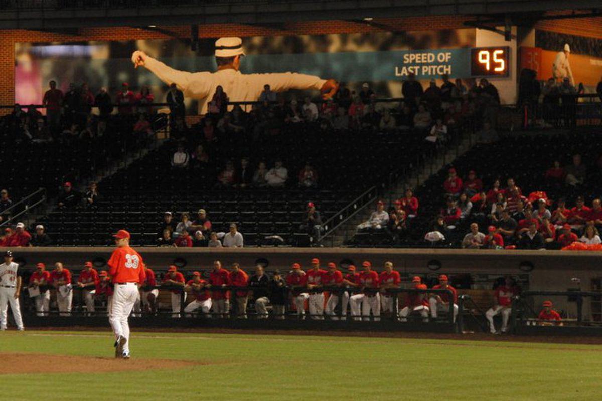 Ohio State missed closer Josh Dezse's big arm this weekend