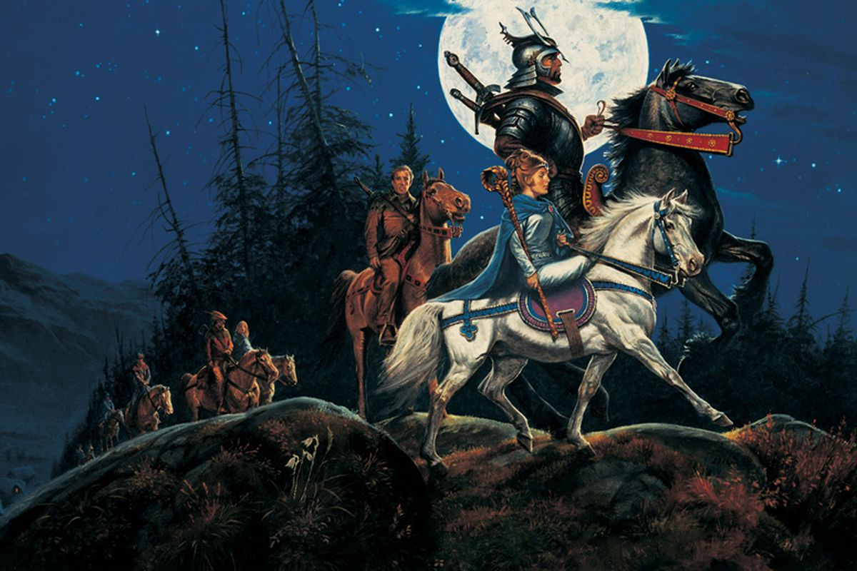 The Eye of the World is the first book in the Wheel of Time series.