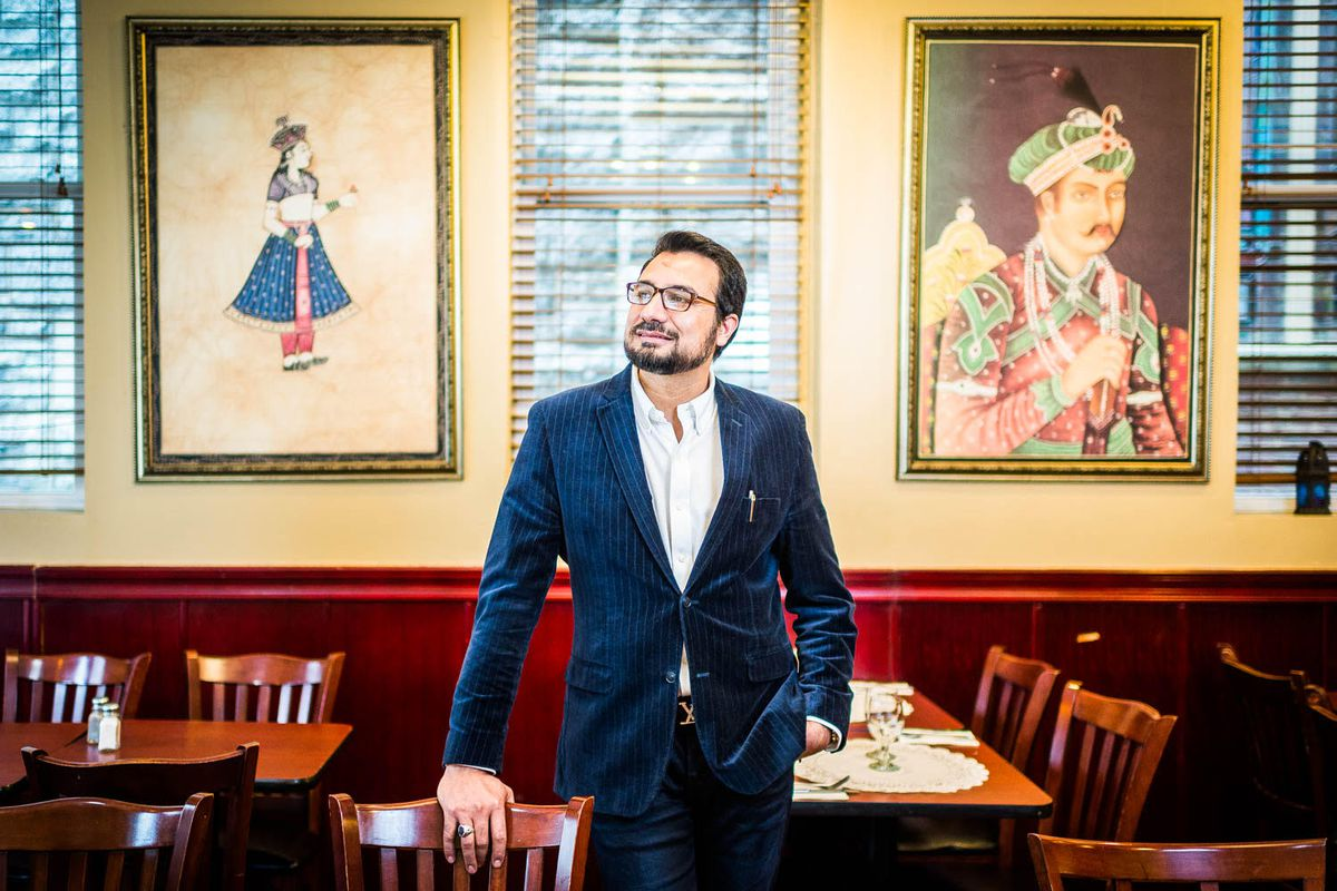 Sakina Halal Grill Owner Kazi Mannan R Lopez