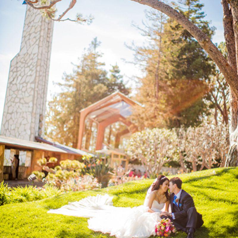 Wayfarers Chapel Wedding.Where To Get Married In Los Angeles Curbed La