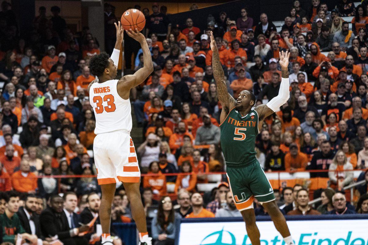 COLLEGE BASKETBALL: JAN 24 Miami at Syracuse