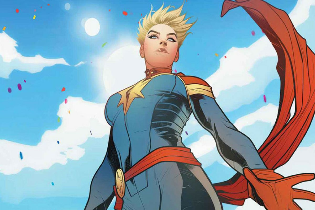 setting captain marvel in the '90s hints at how much she