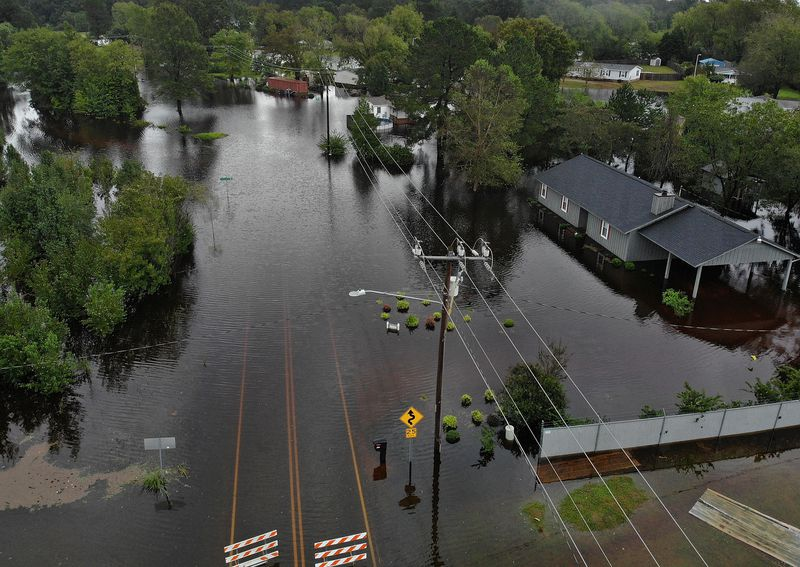 GettyImages_1034524074 Photos: what Hurricane Florence's destruction looks like on the ground