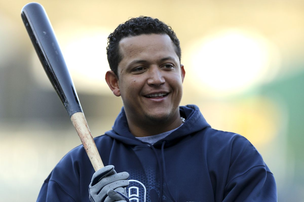 Miguel Cabrera posted the majors' best OBP in 2013.