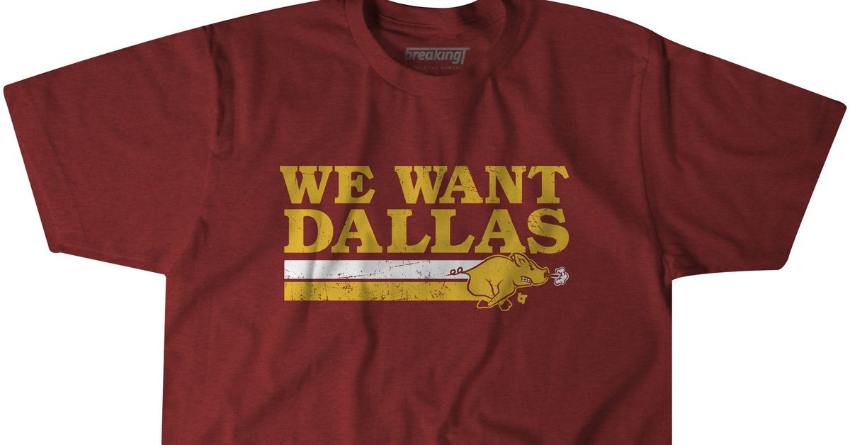 It's Dallas Week! We Want Dallas T-shirts are here!