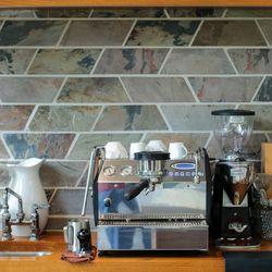 Along with a top notch espresso maker.