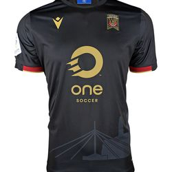 The front of Valour FC's 2020 away kit