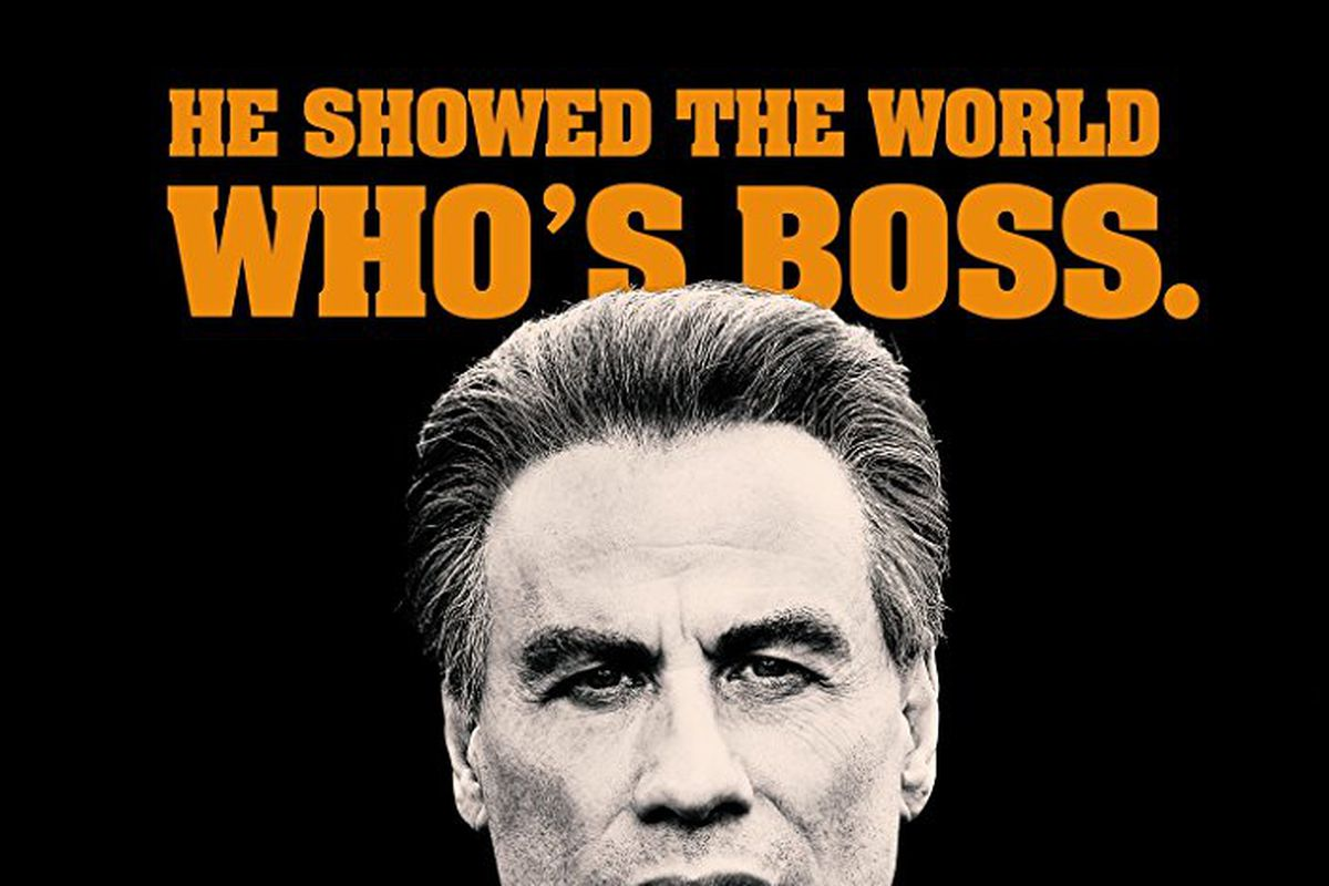 The poster for the movie Gotti