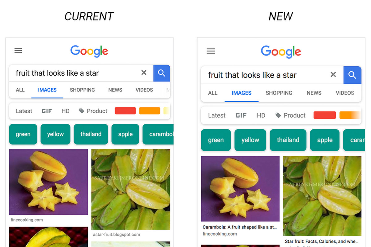 Google Images becomes more useful on Android and iOS after latest update