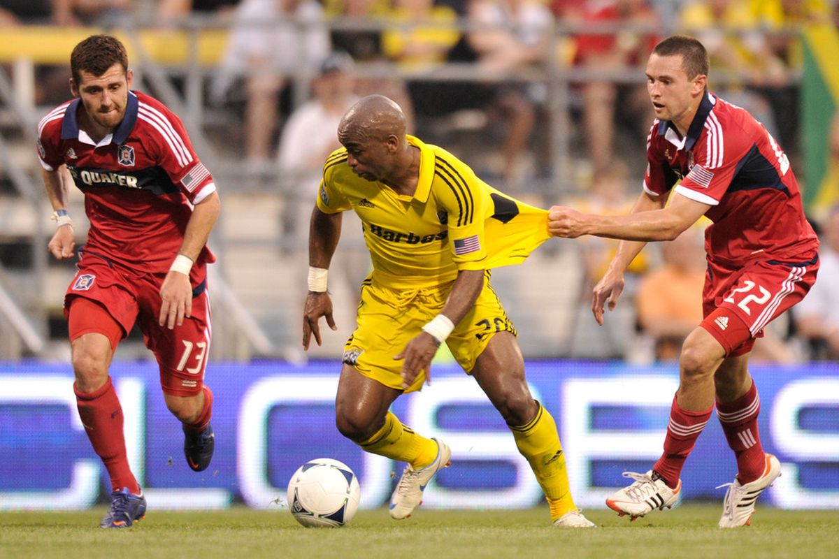 Renteria and the Crew fought for 90 minutes to earn a 2-1 win.