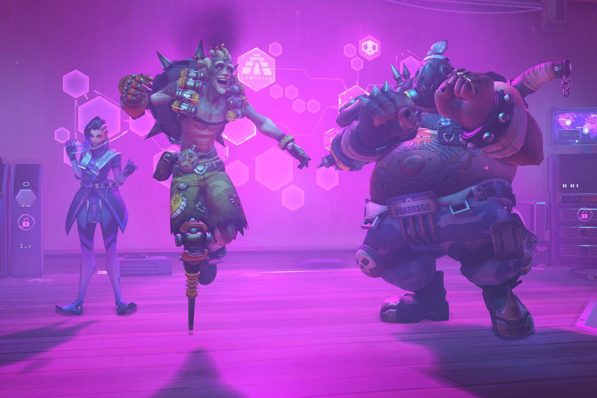 Overwatch dance emotes