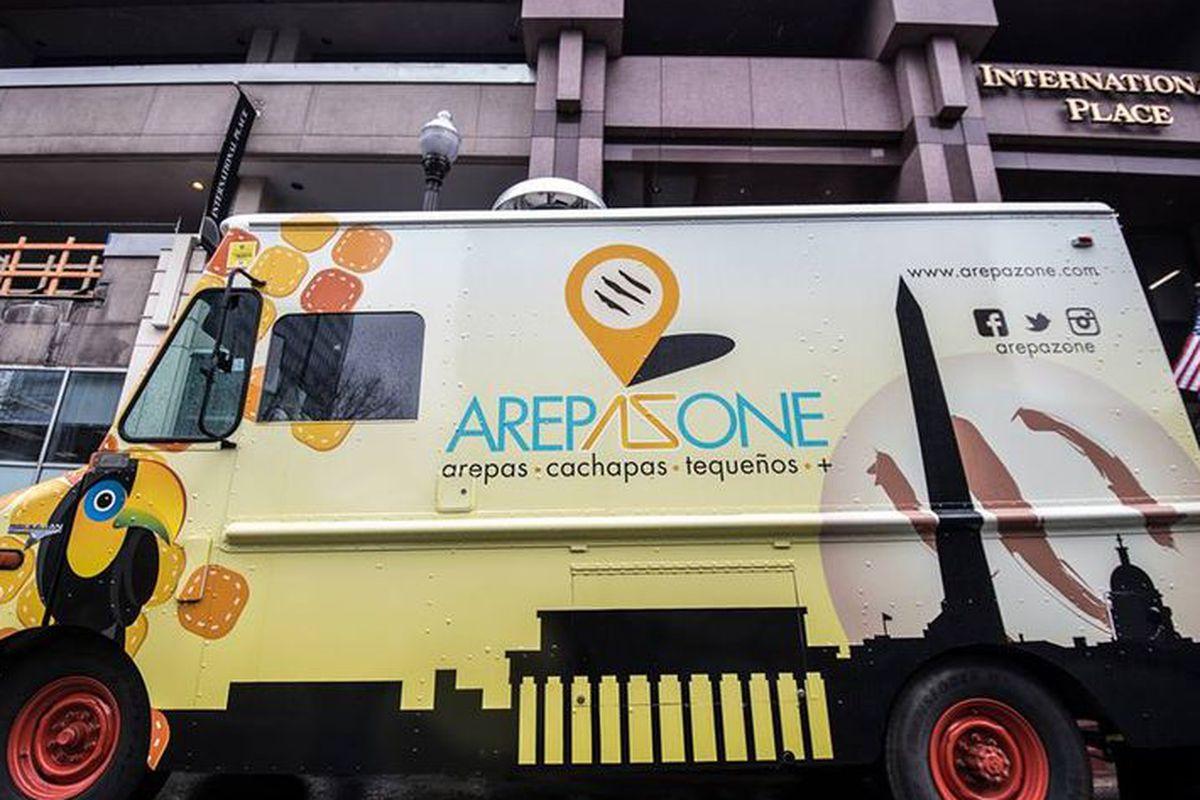 Arepa Zone truck