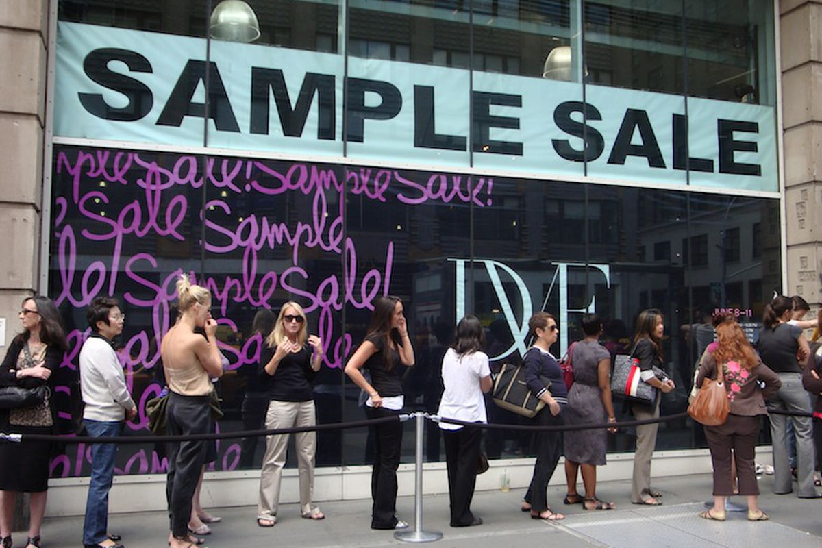 """Image via <a href=""""http://chiccitylife.com/how-to-shop-sample-sales-get-the-most-out-of-your-budget/"""">Chic City Life</a>"""