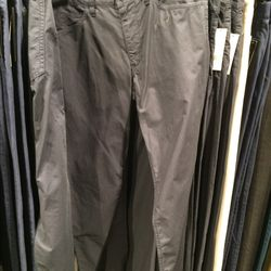 Chinos, size 29, $99 (was $225)