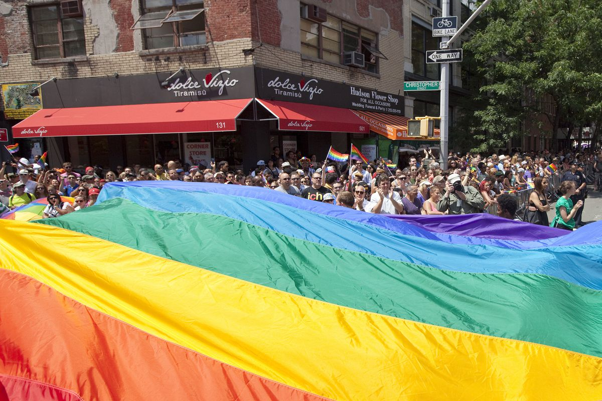Gay Pride March Held In New York City