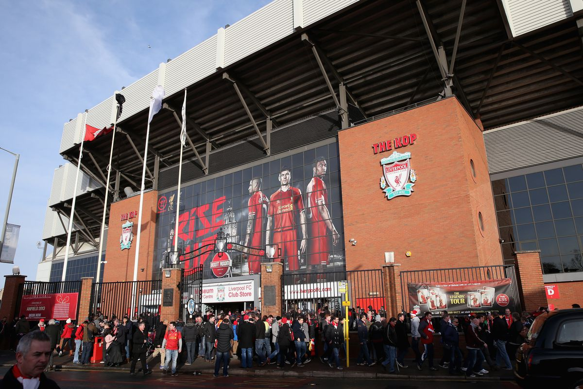 Anfield as you know and love it today.