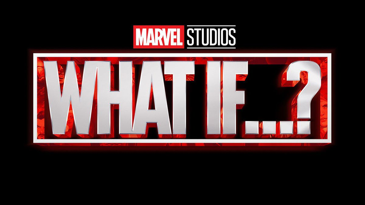 Logo for Marvel Studios' animated series What If...?