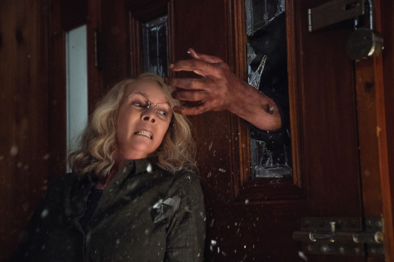 the new halloween is a slasher movie with an actual message