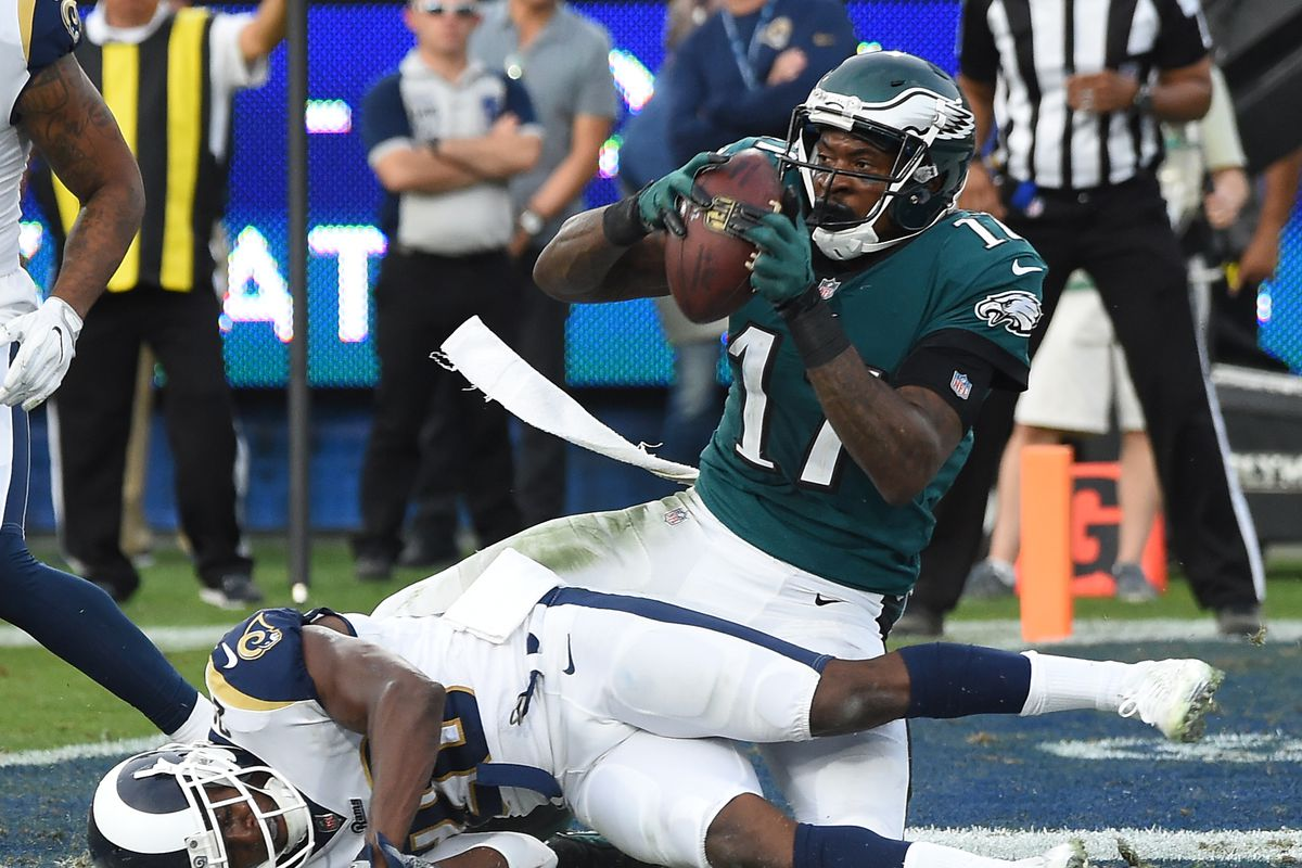 sneakers for cheap 7e877 e13a1 Eagles News: Alshon Jeffery surprises kids with a great ...