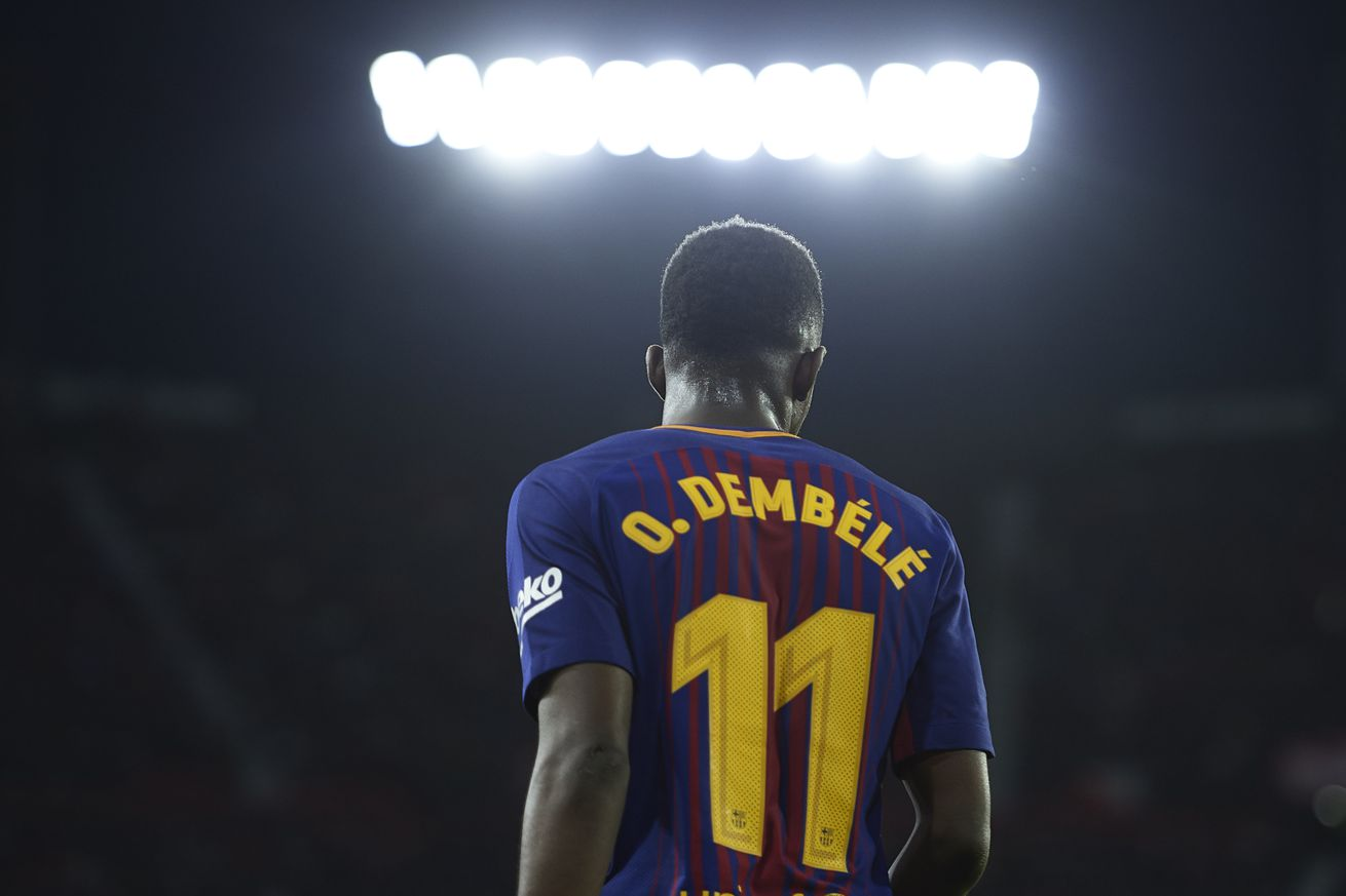 Dembele can do the same things as Pele & Cruyff - Xavi