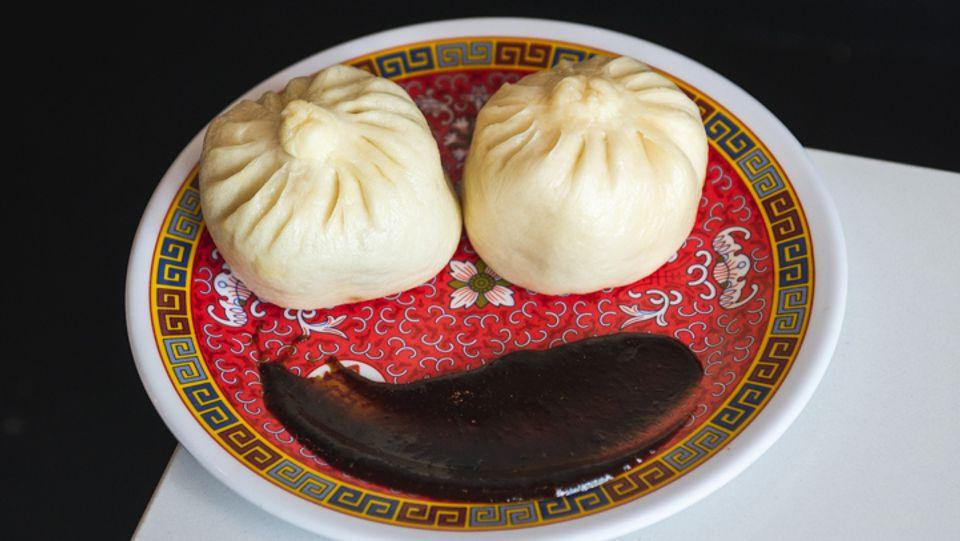 Steamed pork bao from Maketto
