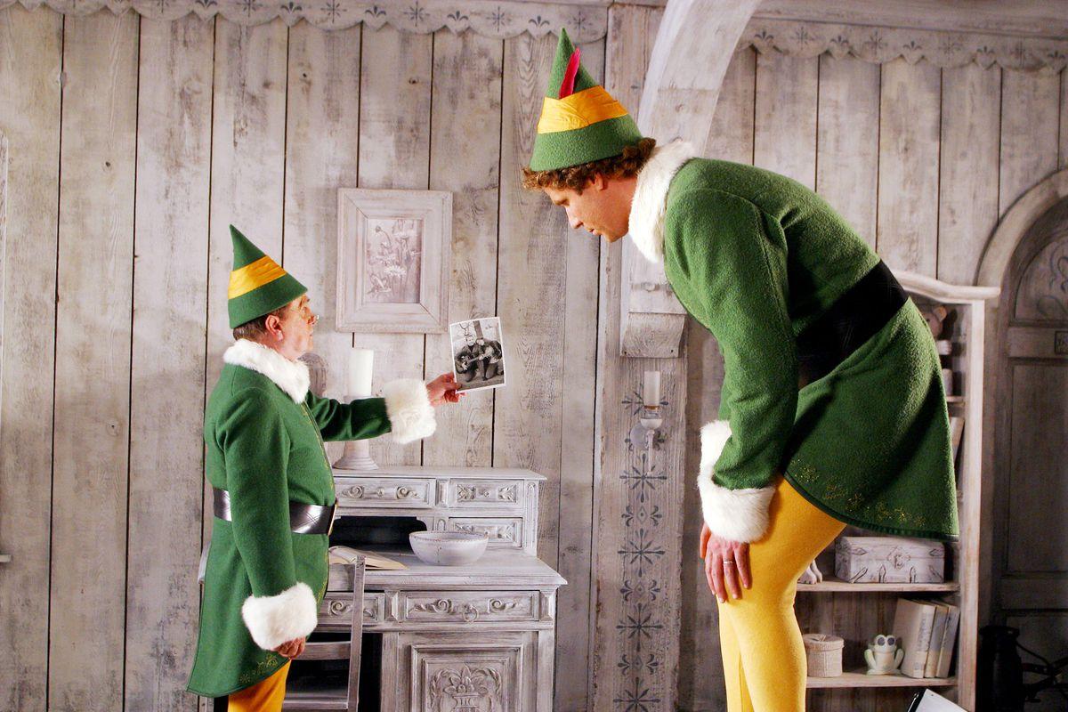bob newhart and will ferrell in elf