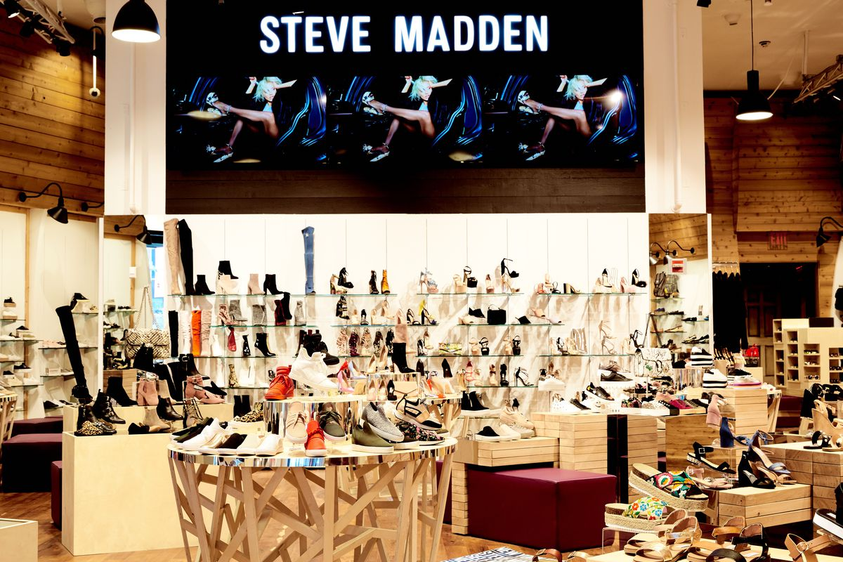 The new Steve Madden store in Times Square. Photo: Steve Madden