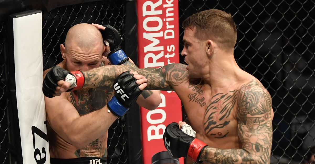 Dustin Poirier knocks out Conor McGregor with blistering series of punches in UFC 257 main event