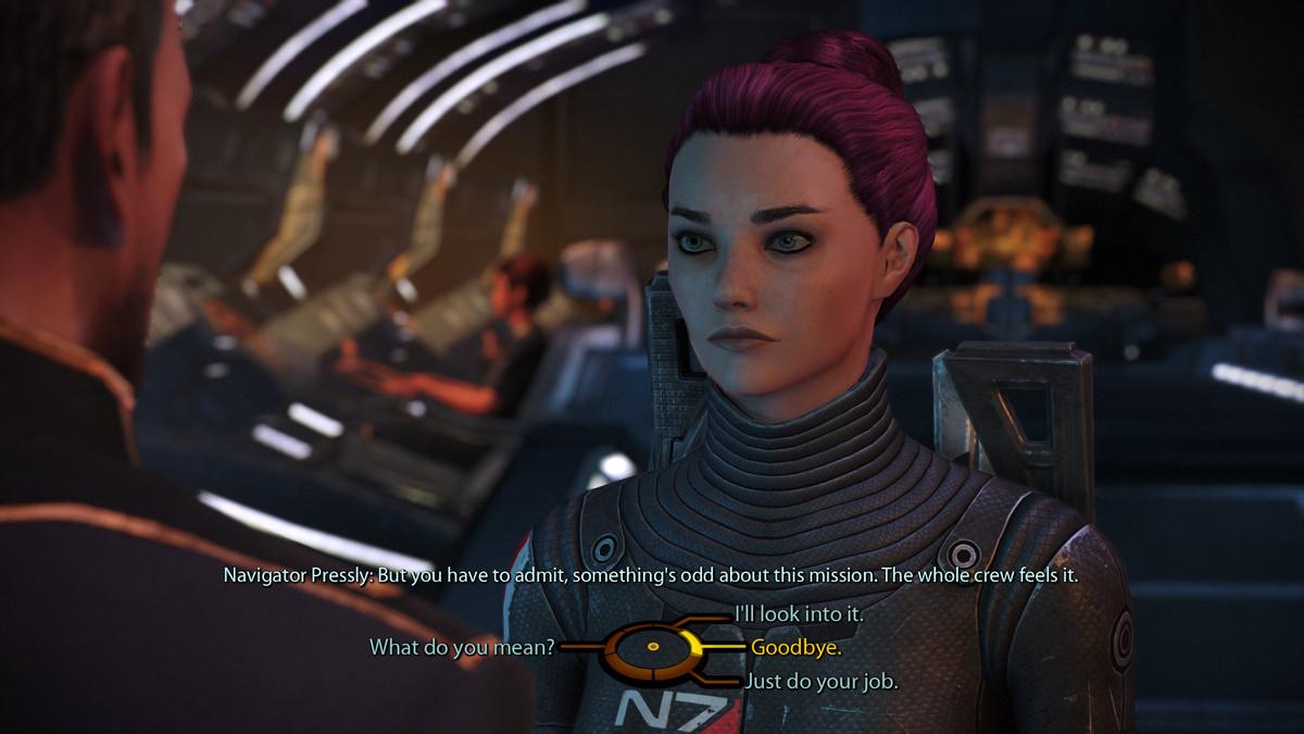 Mass Effect Dialog Tree