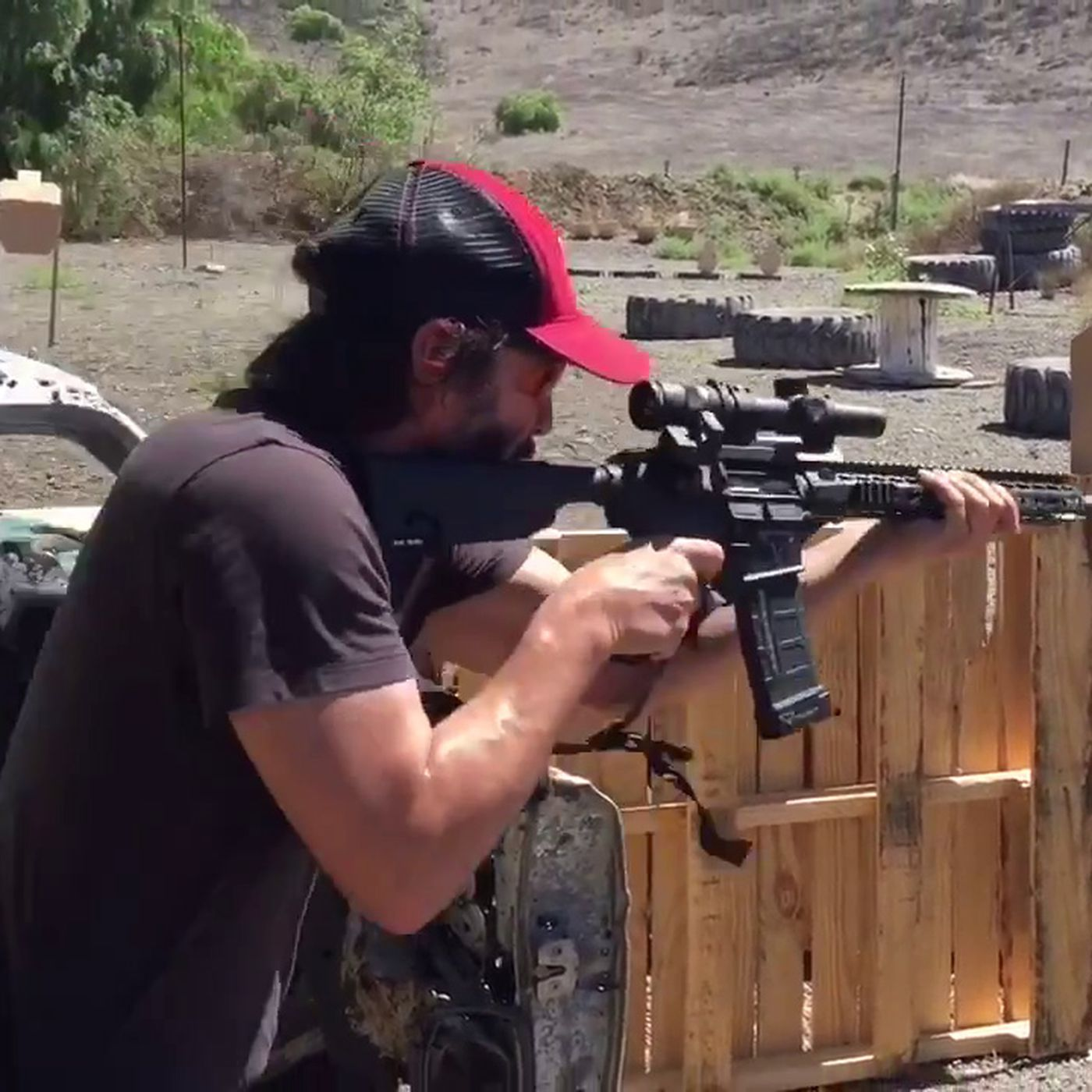 Watch Keanu Reeves tear up a training ground in stunning