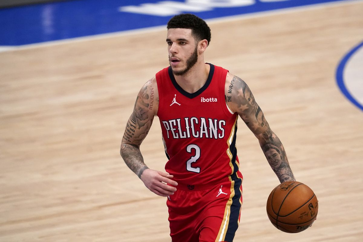 New Bulls player Lonzo Ball will face his old team, the Pelicans, on Oct. 22.