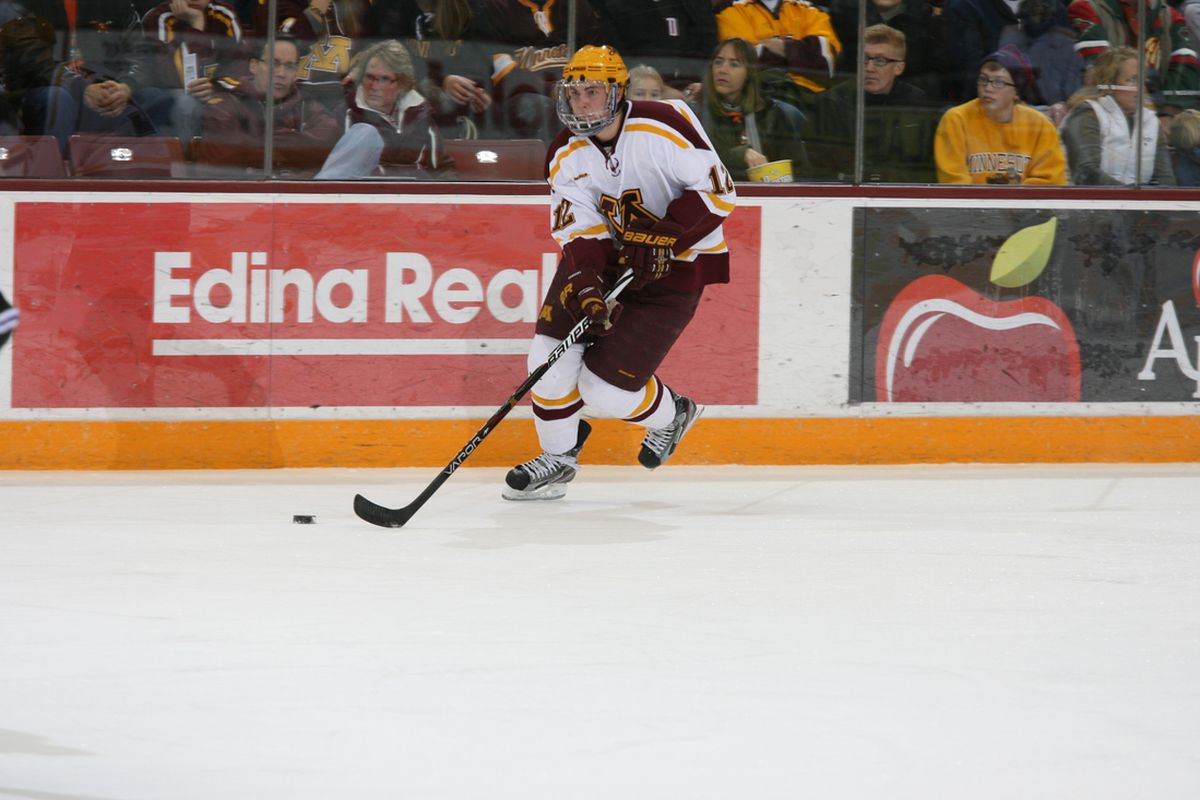 Justin Holl had two assists against New Hampshire