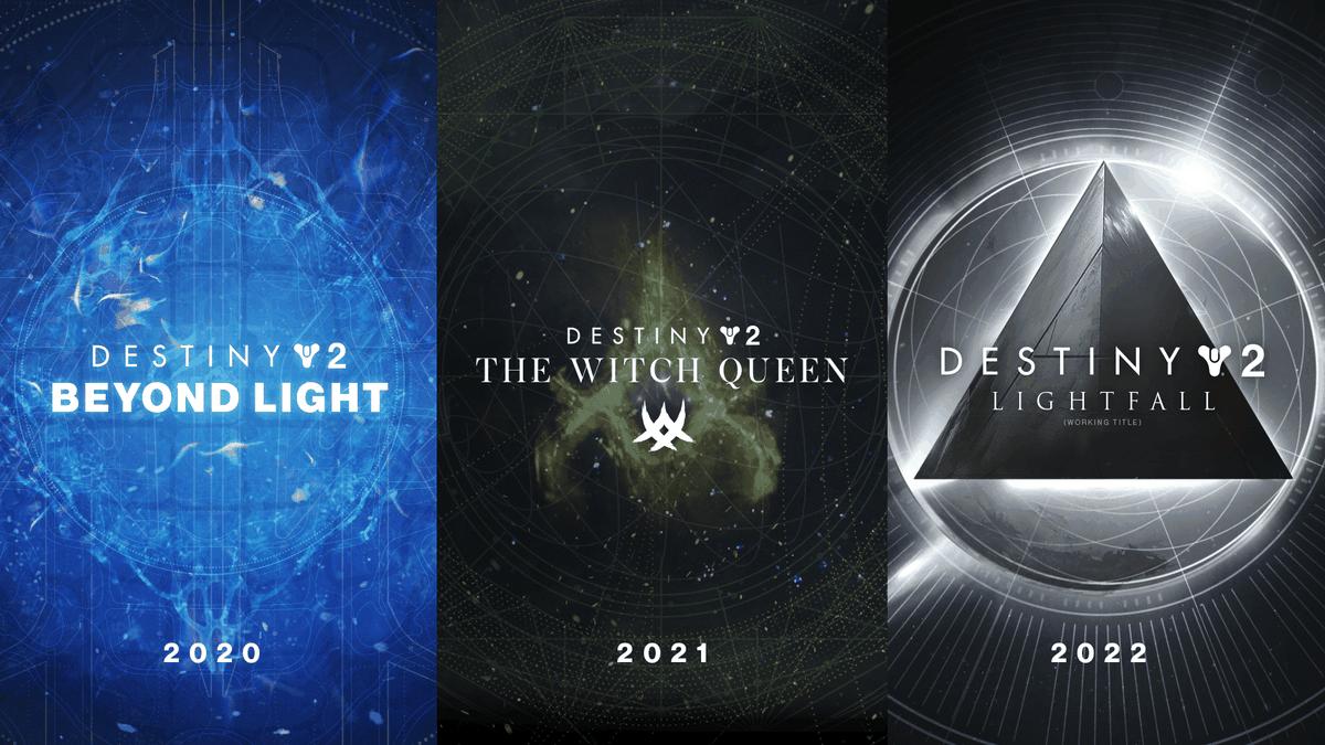 Destiny 2 2020, 2021, 2022