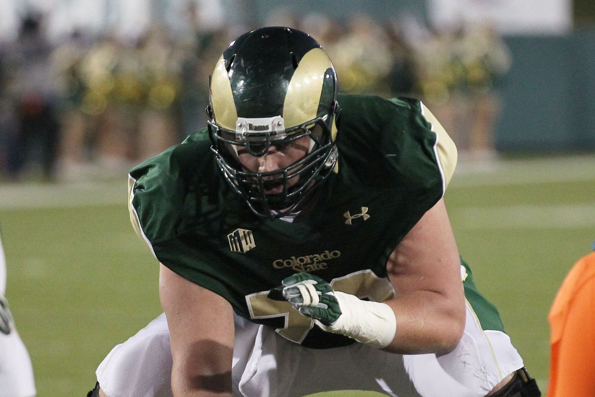 Weston Richburg could be a future NY Giant OL.